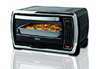 Oster TSSTTVMNDG Countertop Digital Convection Toaster Oven, Black/Polished Stainless