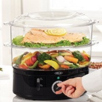 BELLA Dual Basket Food Steamer