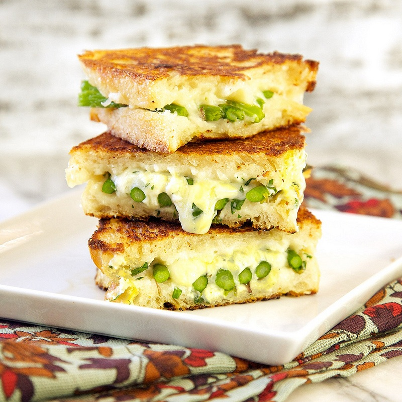 Donna Asparagus Grilled Cheese