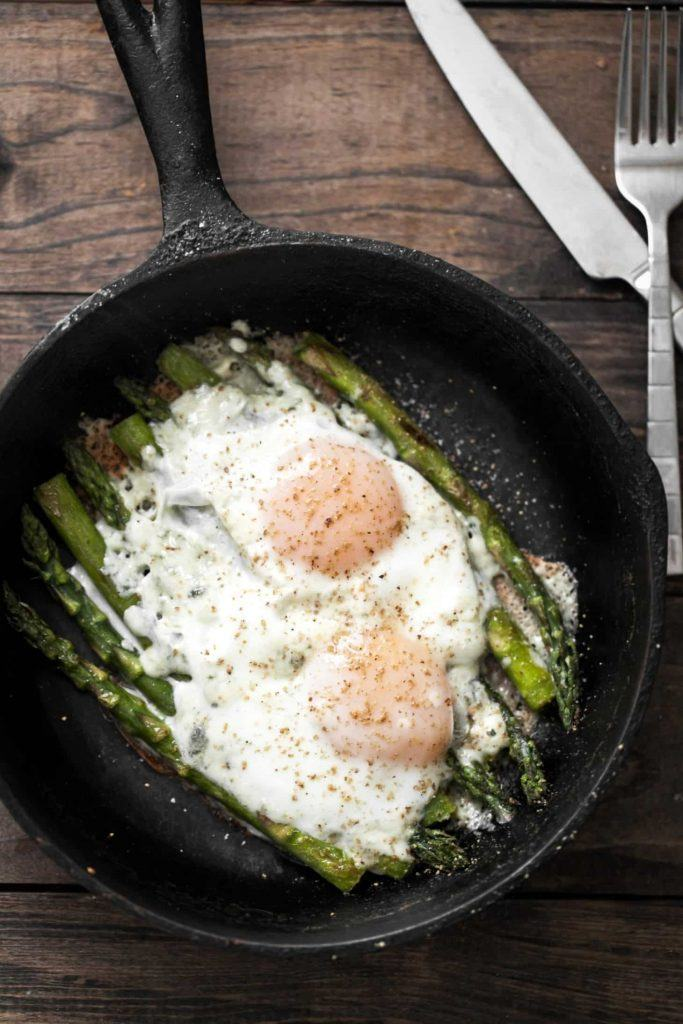 Asparagus and Eggs by Naturally Yella