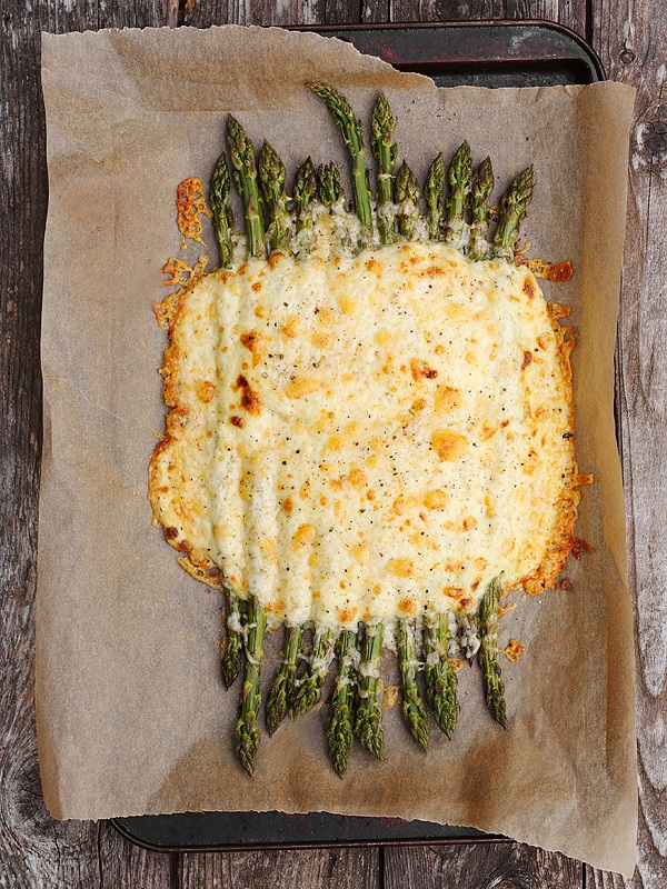 Creamy Asparagus And Cheddar Bake by Seasons And Suppers