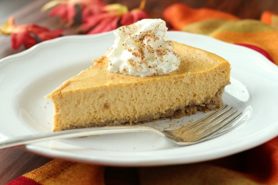 Pumpkin Cheesecake via Food
