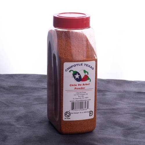 Chile De Arbol Powder via Chipotle Texas