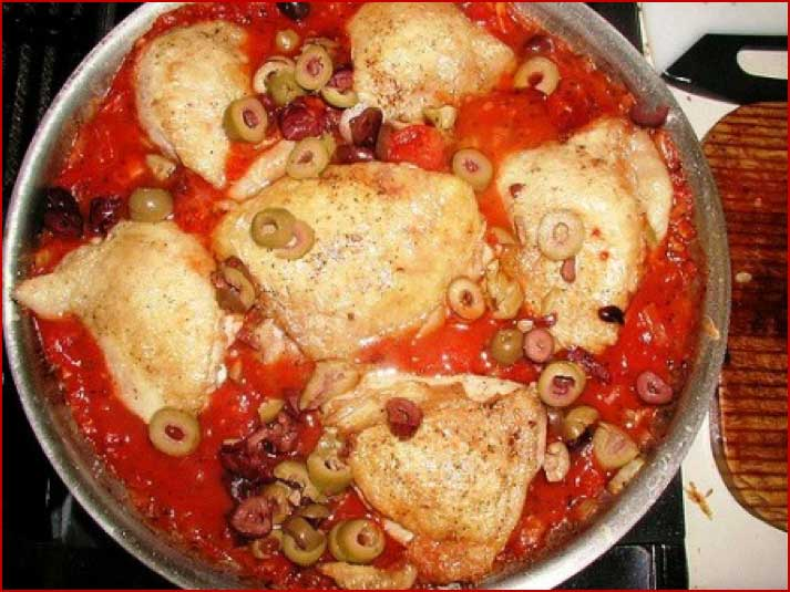 Chicken Oysters in Tomato Sauce​ via Kitchen Byte
