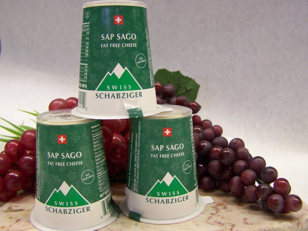 Sap Sago Cheese via 201 Cheeses