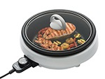 Aroma Housewares ASP-137 3-in-1 Super Pot with Grill Plate