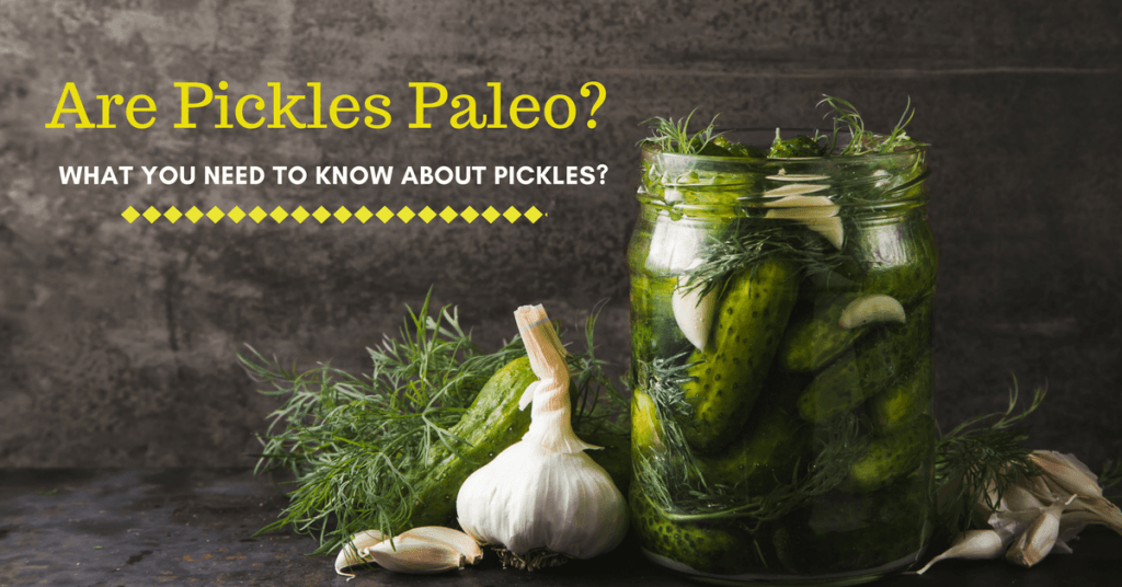 Are Pickles Paleo- What You Need to Know About Pickles-