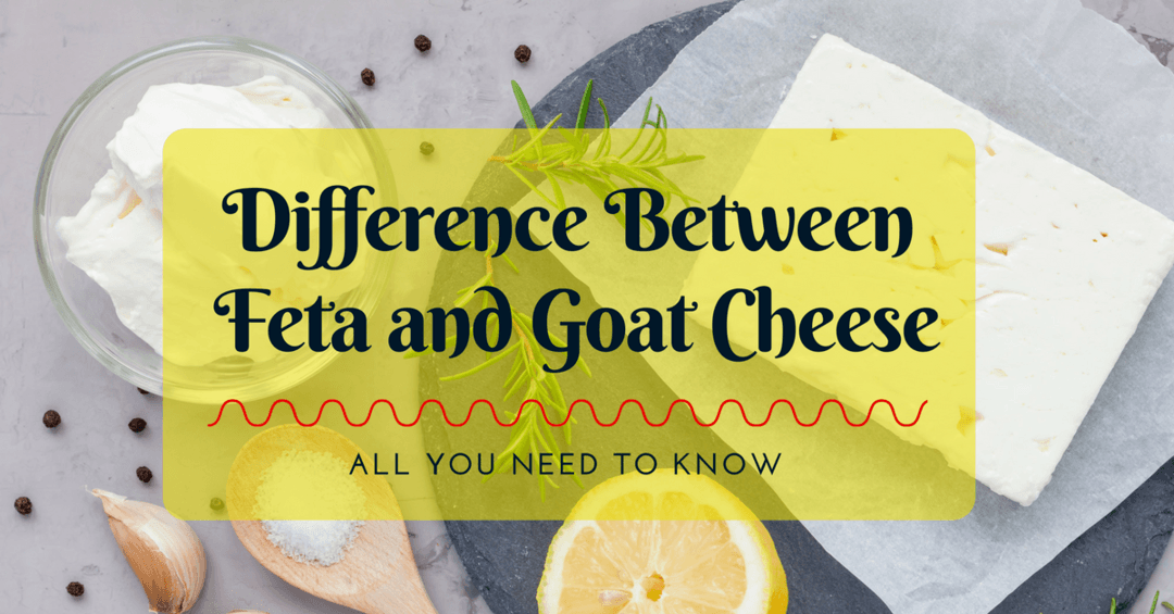 Difference Between Feta and Goat Cheese- All You Need To Know