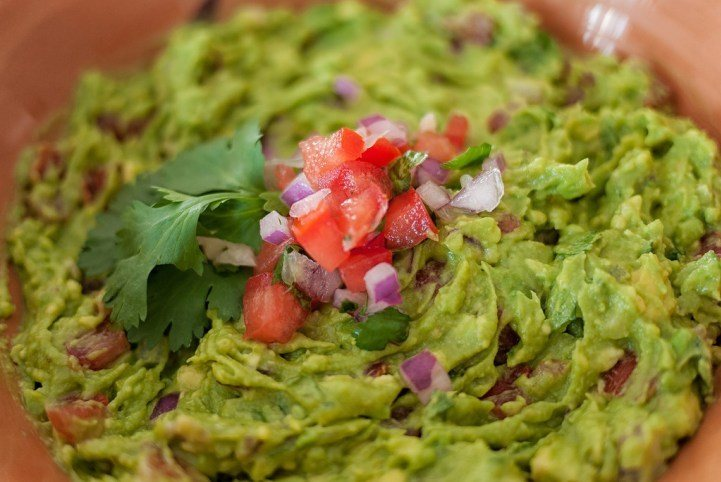 Tripas with Guacamole via A Little A Drift